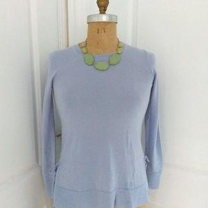 J. Crew Periwinkle Tunic Sweater Size XS